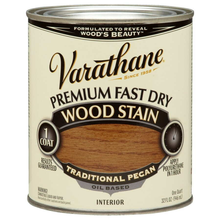 Varathane Premium Fast Dry TRADITIONAL PECAN Interior Stain (Actual Net Contents: 32-fl oz)