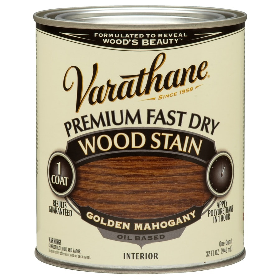 Varathane Varathane Golden Mahogany Interior Stain (Actual Net Contents: 32 Fluid Ounce(S))