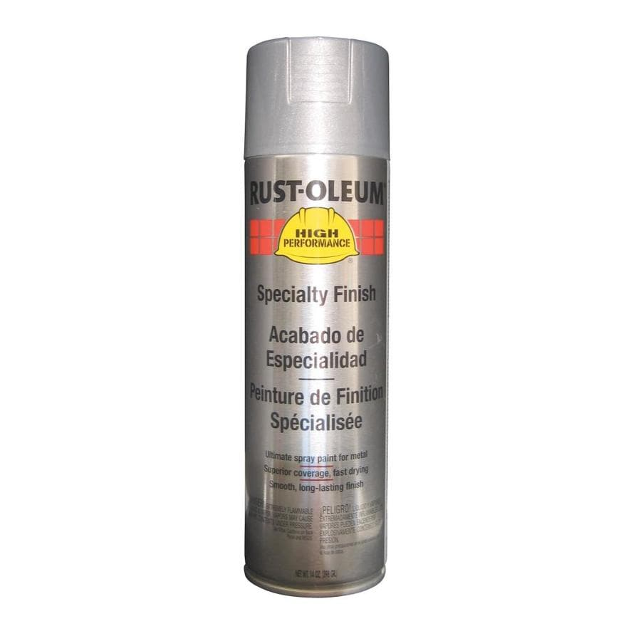 Shop Rust Oleum High Performance Aluminum Spray Paint