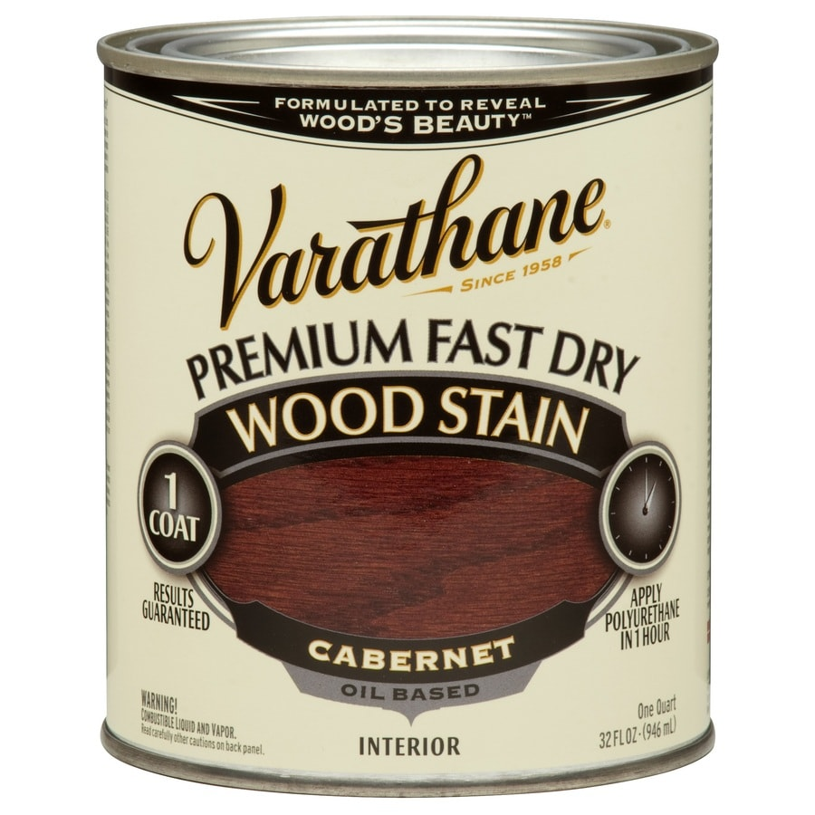 Varathane Cabernet Interior Stain (Actual Net Contents: 32-fl oz)