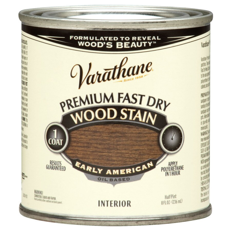 Varathane Premium Fast Dry EARLY AMERICAN Interior Stain (Actual Net Contents: 8-fl oz)