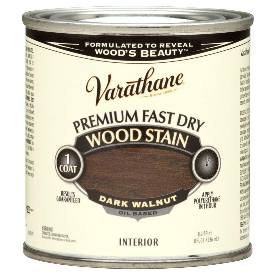 Varathane Dark Walnut Interior Stain (Actual Net Contents: 8-fl oz)