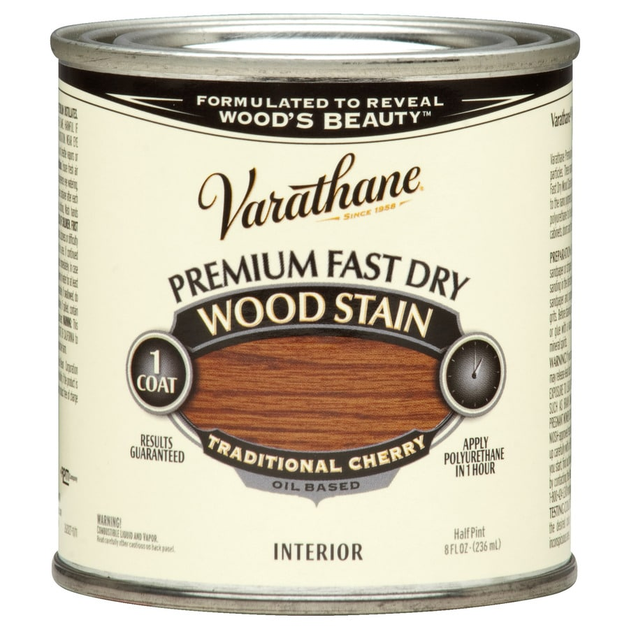 Varathane Premium Fast Dry Traditional Cherry Interior Stain (Actual Net Contents: 8-fl oz)