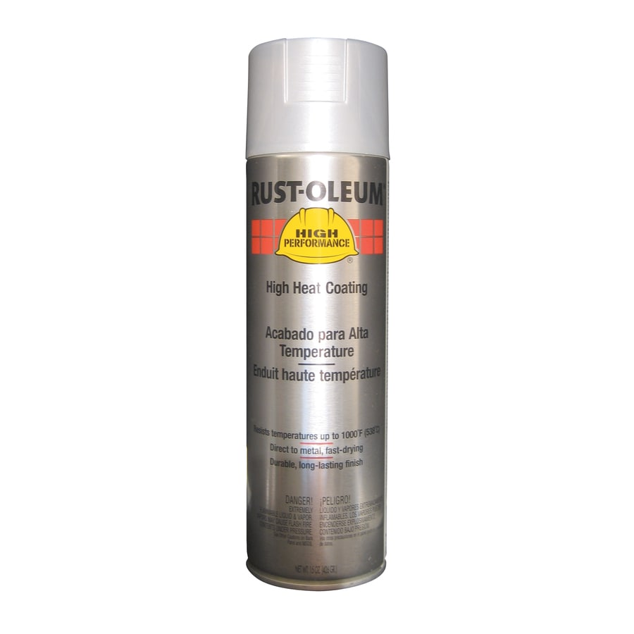 Rust-Oleum High Performance High Heat Aluminum Enamel Spray Paint (Actual Net Contents: 15-oz)