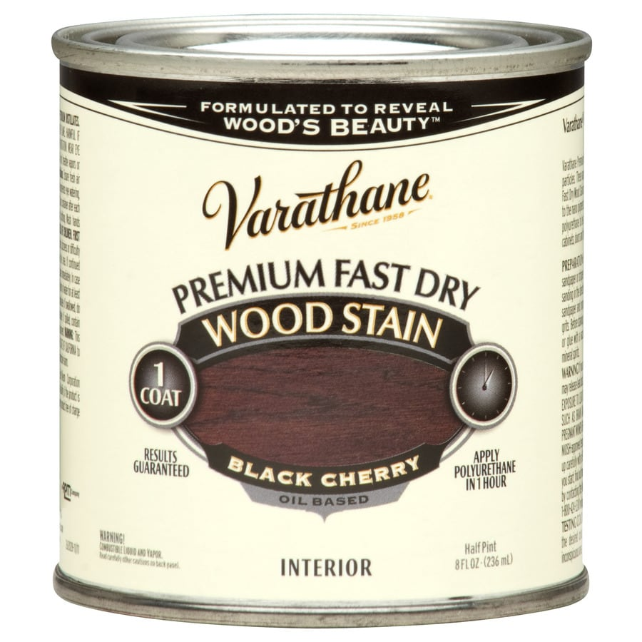 Varathane Varathane Black Cherry Interior Stain (Actual Net Contents: 8-fl oz)