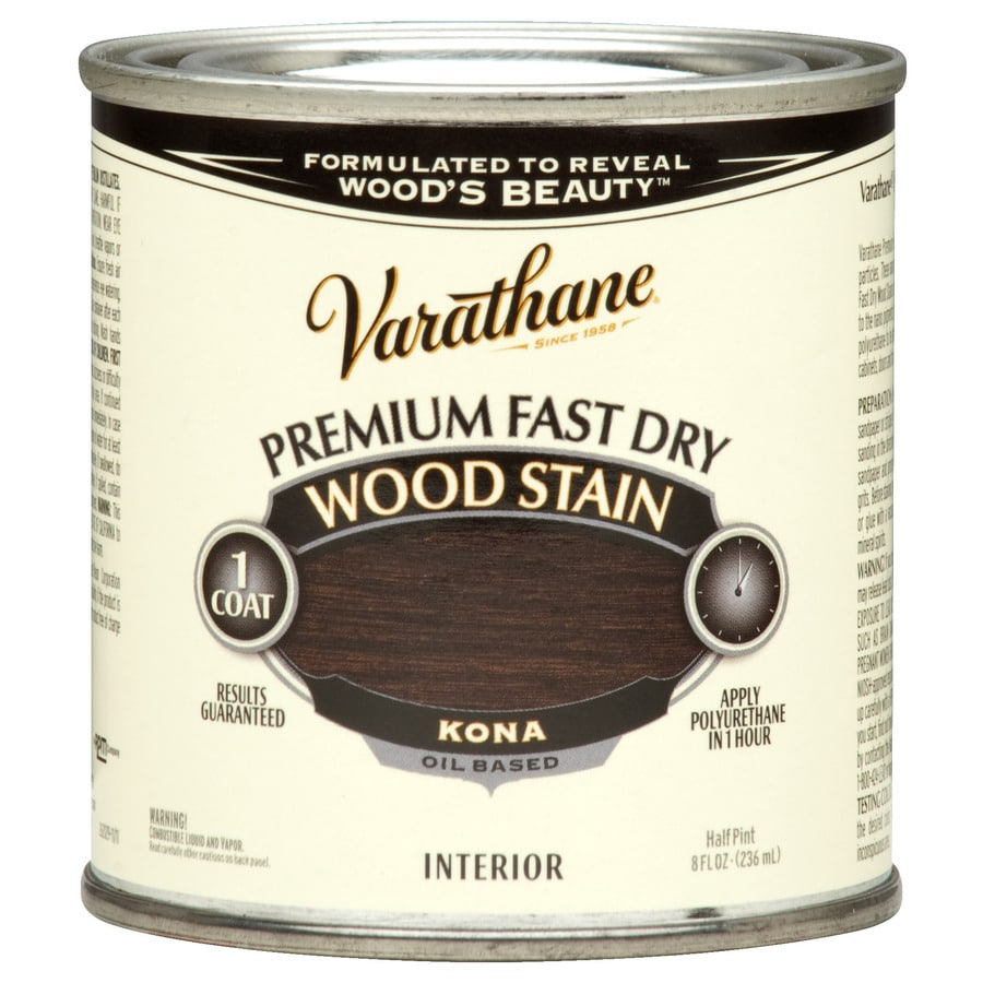 Varathane Varathane Kona Interior Stain (Actual Net Contents: 8 Fluid Ounce(S))