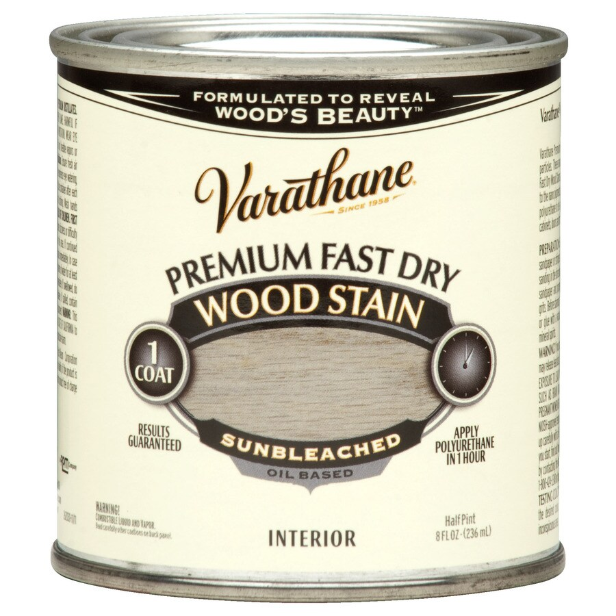 Varathane Varathane Sunbleached Interior Stain (Actual Net Contents: 8 Fluid Ounce(S))