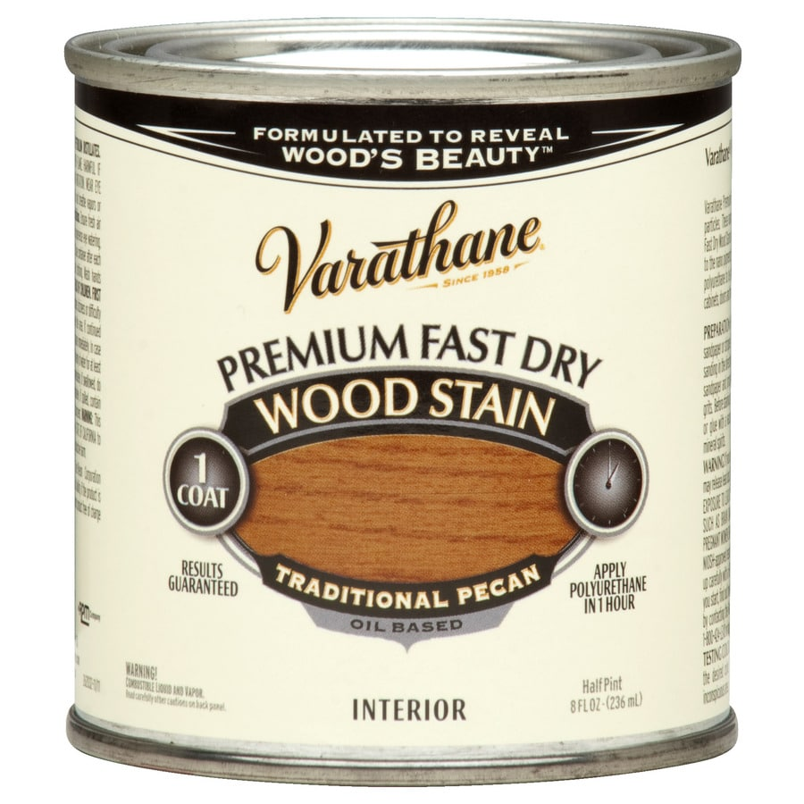 Varathane Premium Fast Dry TRADITIONAL PECAN Interior Stain (Actual Net Contents: 8-fl oz)