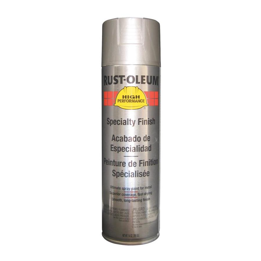 Rust-Oleum High Performance Stainless Steel Enamel Spray Paint (Actual Net Contents: 14-oz)