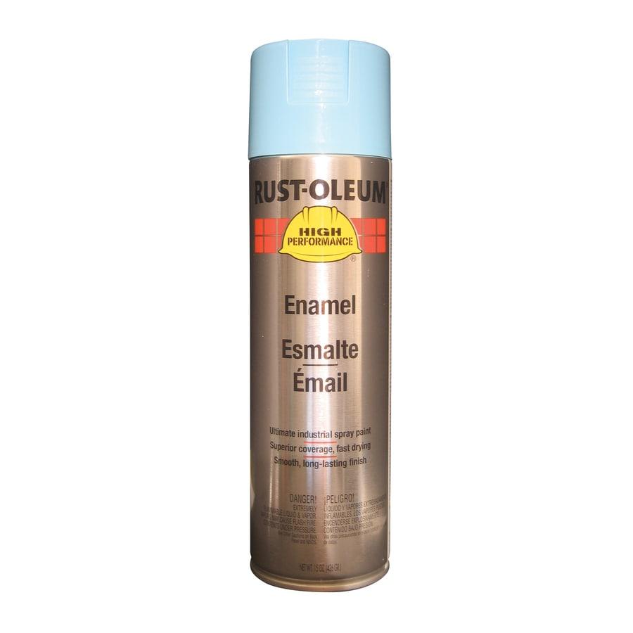 Rust-Oleum High Performance Light Blue Rust Resistant Enamel Spray Paint (Actual Net Contents: 15-oz)