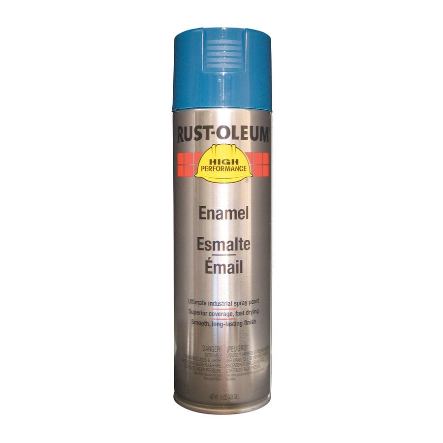 Rust-Oleum High Performance Deep Blue Enamel Spray Paint (Actual Net Contents: 15-oz)