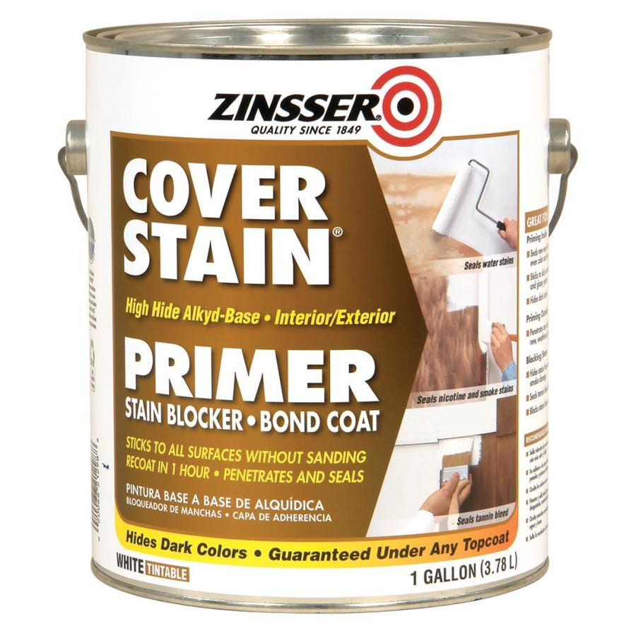 Zinsser Cover Stain Interior Latex Primer (Actual Net Contents: 128-fl oz)