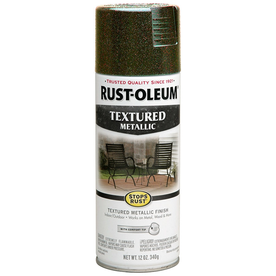 Rust-Oleum Stops Rust Mystic Brown Metallic Enamel Spray Paint (Actual Net Contents: 12-oz)