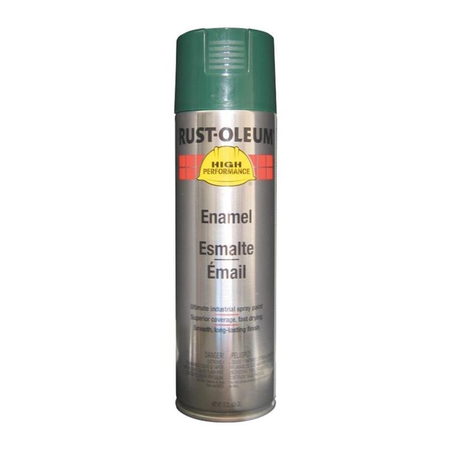 Rust-Oleum High Performance Dark Green Rust Resistant Enamel Spray Paint (Actual Net Contents: 15-oz)