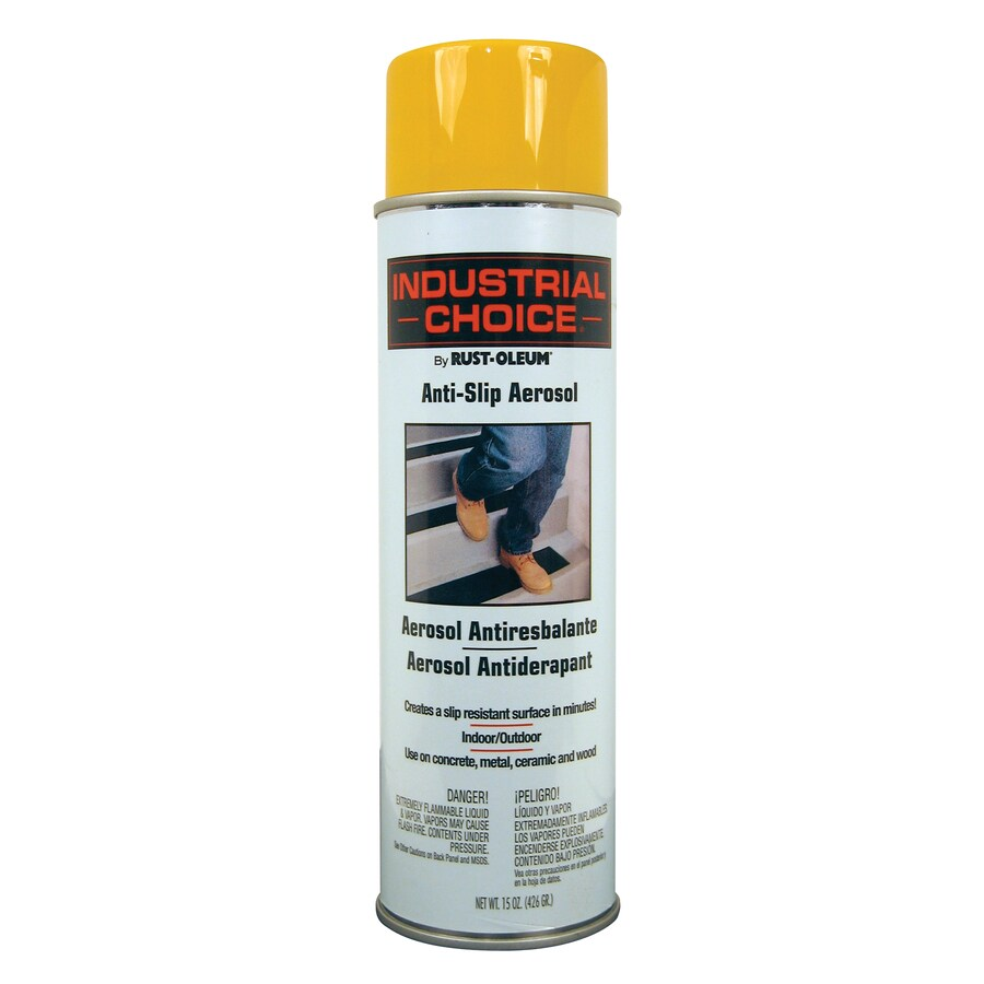 Rust-Oleum Industrial Choice Yellow Spray Paint (Actual Net Contents: 15-oz)