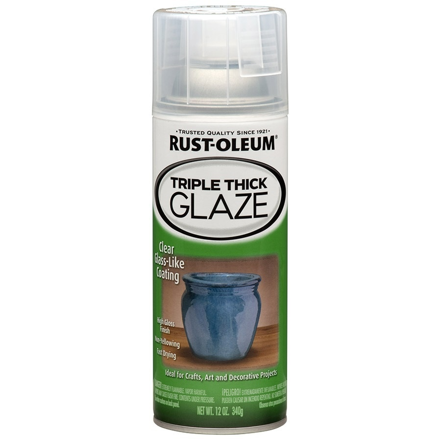 Rust-Oleum Specialty Triple Thick Clear Fade Resistant Spray Paint (Actual Net Contents: 12-oz)