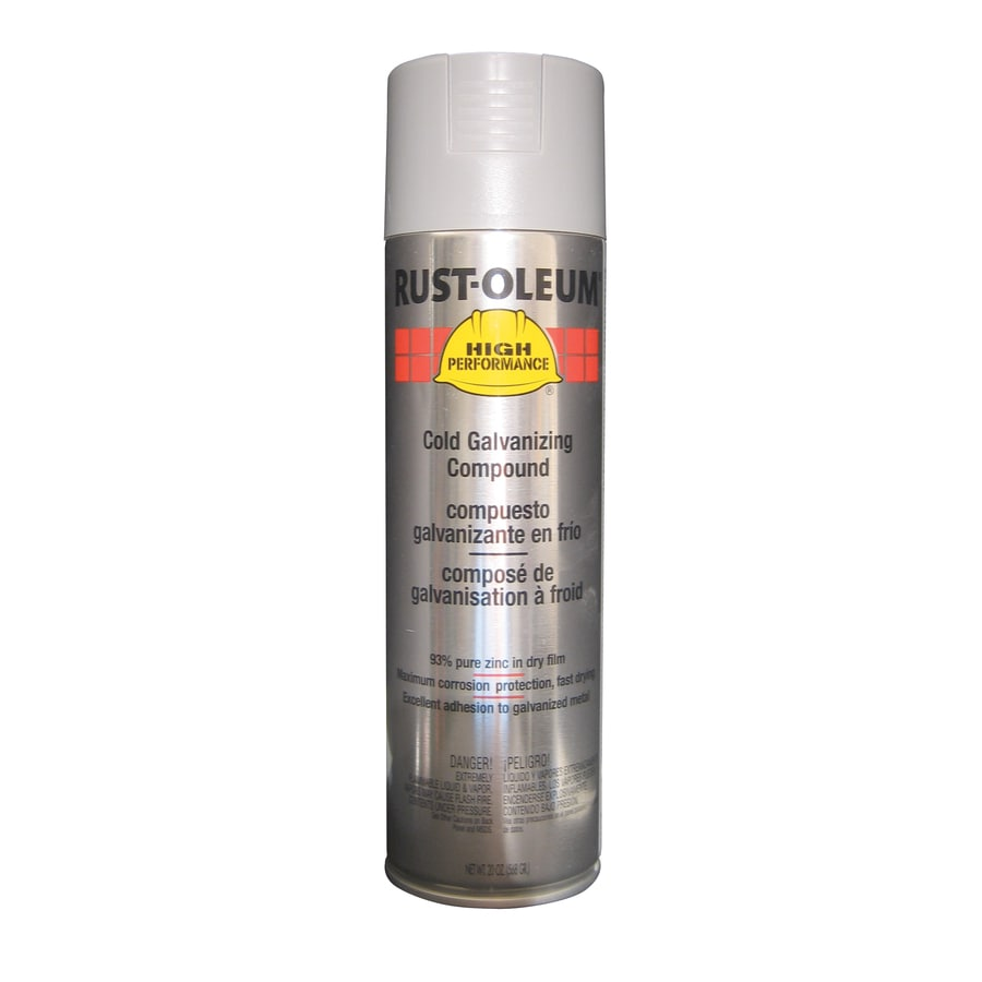 Shop Rust Oleum High Performance Cold Galvanizing Compound Enamel Spray Paint Actual Net
