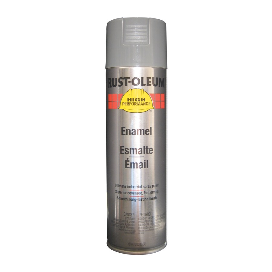 Rust-Oleum High Performance Smoke Gray Rust Resistant Enamel Spray Paint (Actual Net Contents: 15-oz)