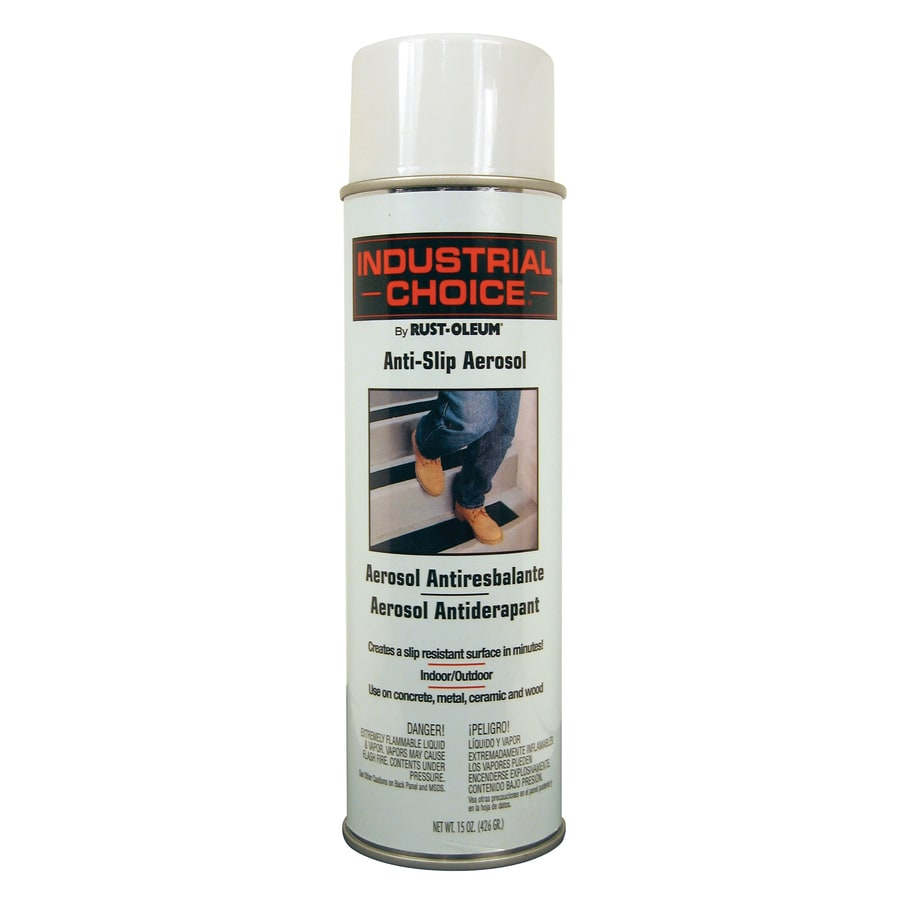 Rust-Oleum Industrial Choice Anti-Slip White Fade Resistant Spray Paint (Actual Net Contents: 15-oz)