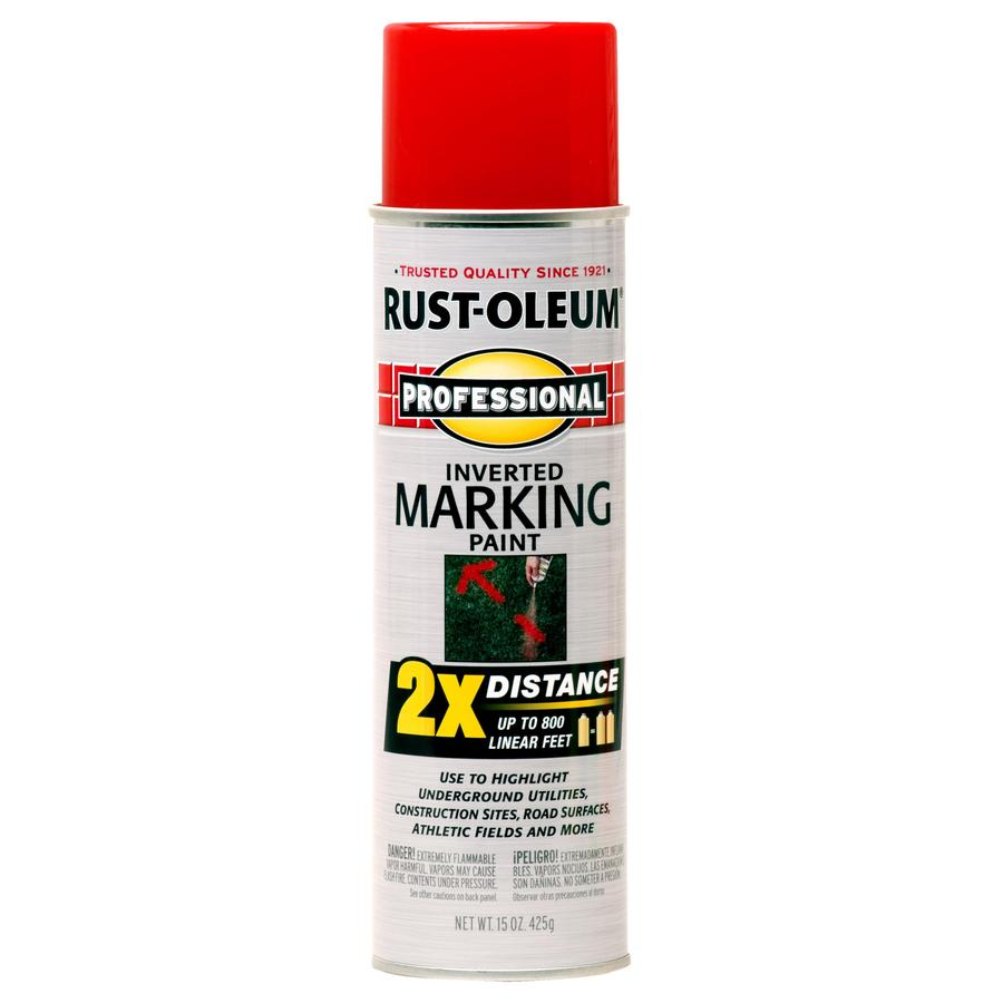 Rust-Oleum Professional 6-Pack Safety Red Oil-based Marking Paint (Actual Net Contents: 15-fl oz)