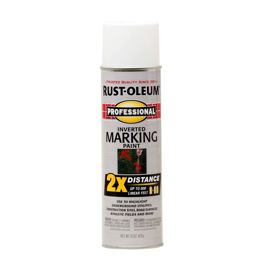 Rust Oleum Professional White Oil Based Marking Paint Actual Net