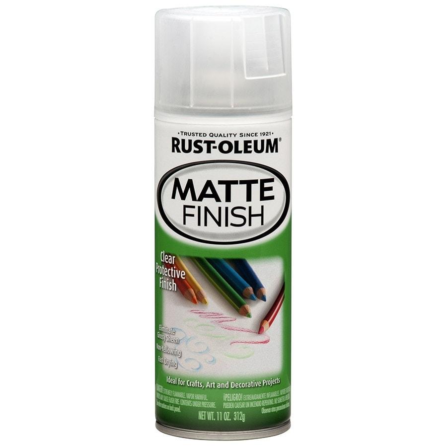 Shop Rust Oleum Specialty Clear Fade Resistant Enamel Spray Paint Actual Net Contents 11 Oz