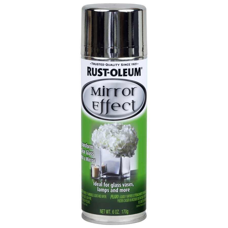 Rust-Oleum Specialty Silver Mirror Spray Paint (Actual Net Contents: 6-oz)