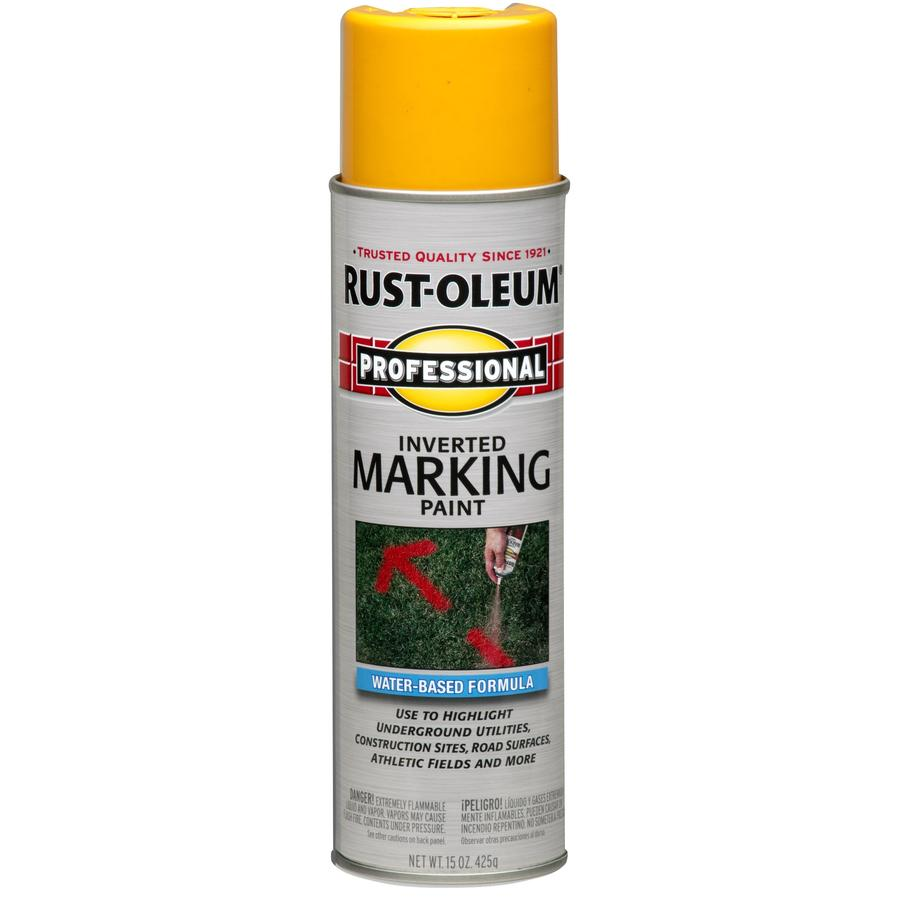 Rust-Oleum Professional 6-Pack Orange Water-Based Marking Paint (Actual Net Contents: 15-fl oz)