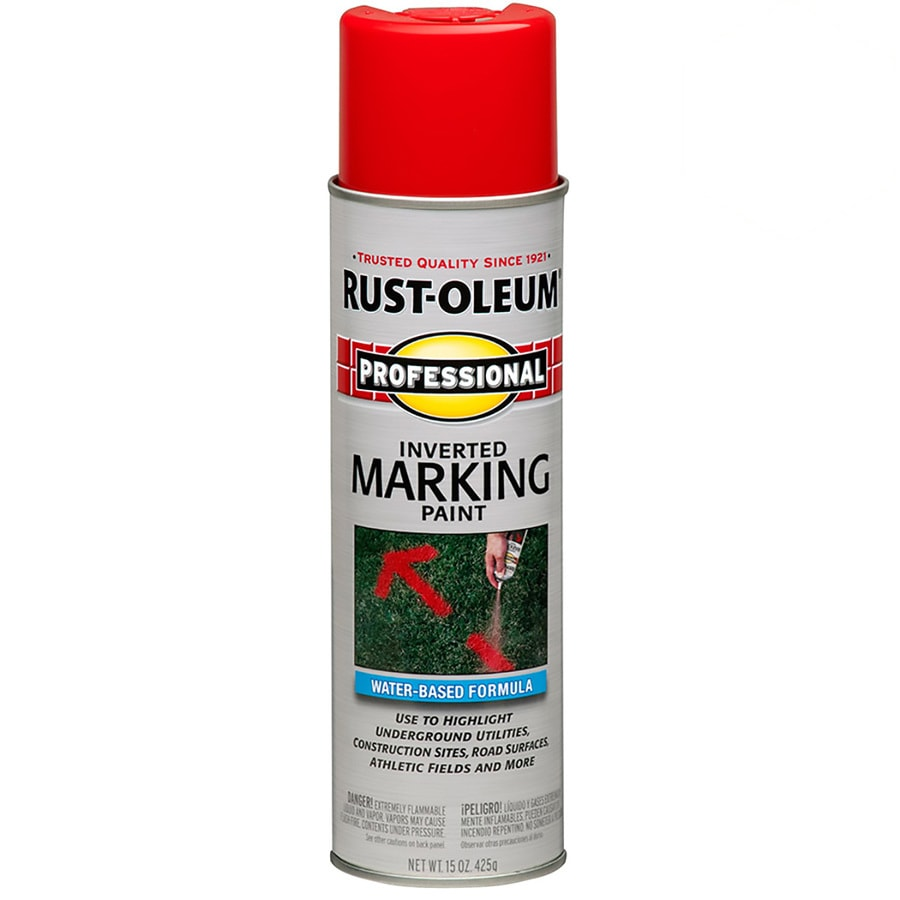 Rust-Oleum Professional Marking Safety Red Fade Resistant Spray Paint (Actual Net Contents: 15-oz)
