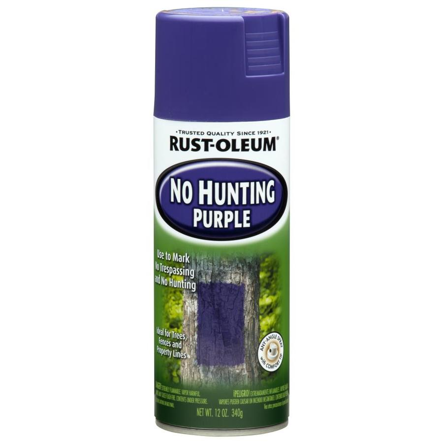 Rust-Oleum Specialty Hunting Purple Fade Resistant Enamel Spray Paint (Actual Net Contents: 12-oz)