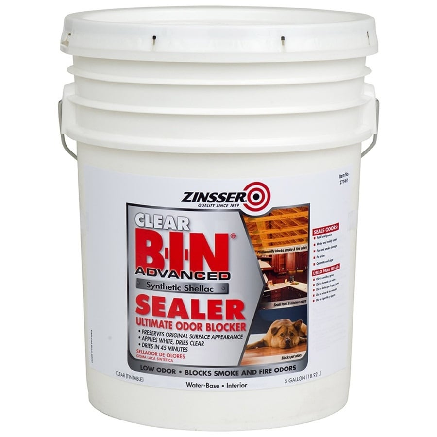 Zinsser B-I-N Advanced Interior Shellac Primer (Actual Net Contents: 640-fl oz)