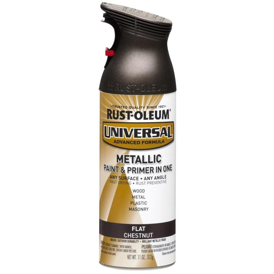 Rust-Oleum Universal Chestnut Metallic Rust Resistant Enamel Spray Paint (Actual Net Contents: 11-oz)