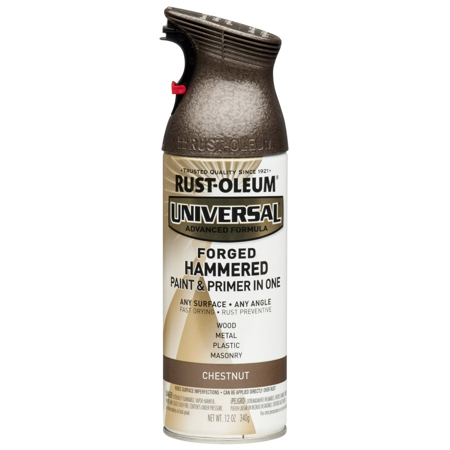 Rust-Oleum Universal Chestnut Hammered Rust Resistant Enamel Spray Paint (Actual Net Contents: 12-oz)