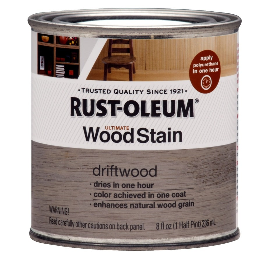 Rust-Oleum Ultimate Driftwood Interior Stain (Actual Net Contents: 8-fl oz)