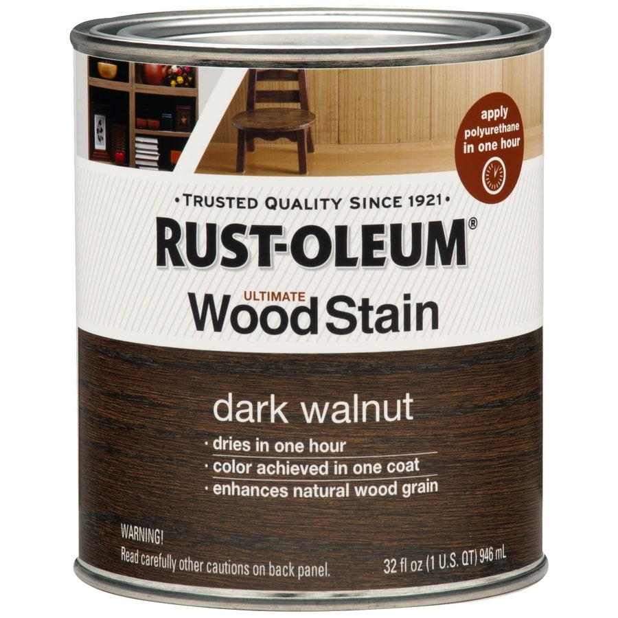 Rust-Oleum Dark Walnut Interior Stain (Actual Net Contents: 32-fl oz)
