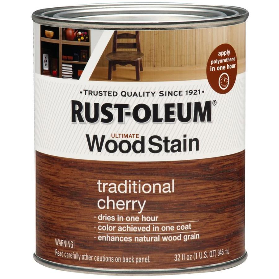Rust-Oleum Trad Cherry Interior Stain (Actual Net Contents: 32-fl oz)