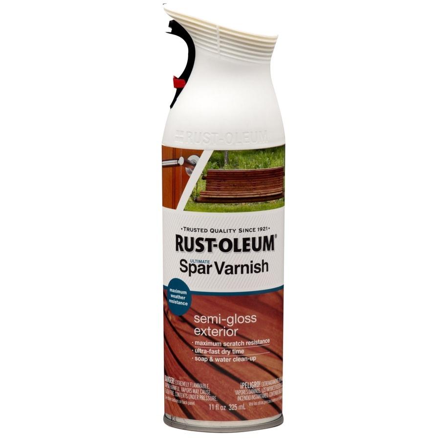 Rust-Oleum Ultimate Spar Clear Fade Resistant Varnish Spray Paint (Actual Net Contents: 11-oz)
