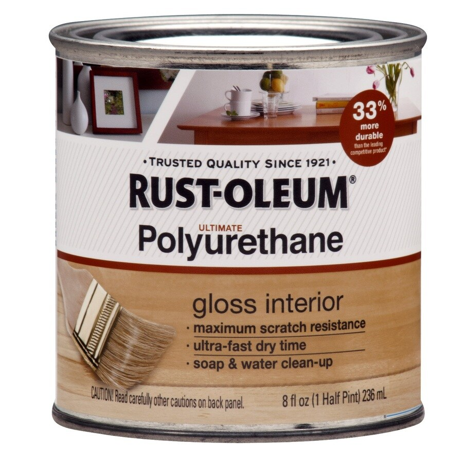 Rust-Oleum Gloss Water-Based 8-fl oz Polyurethane
