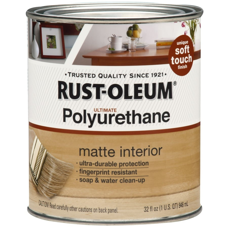 Shop Rust-Oleum Ultimate 32-fl oz Matte Water-Based Polyurethane ...