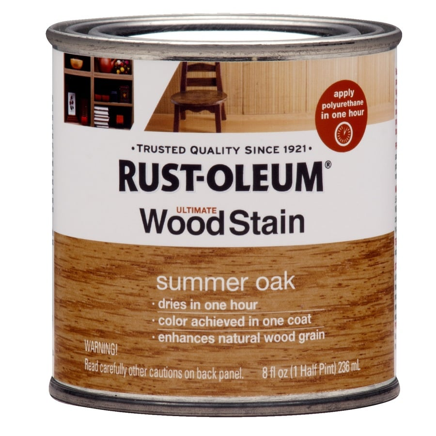 Rust-Oleum Ultimate Summer Oak Interior Stain (Actual Net Contents: 8-fl oz)