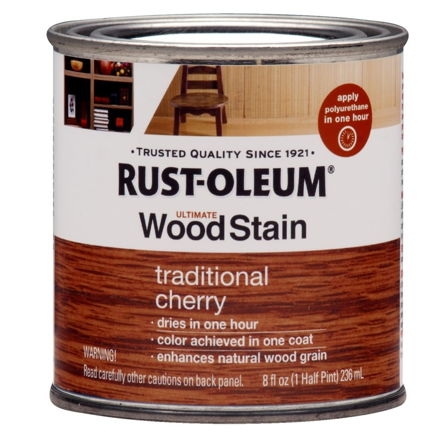 Rust-Oleum Ultimate Trad Cherry Interior Stain (Actual Net Contents: 8-fl oz)