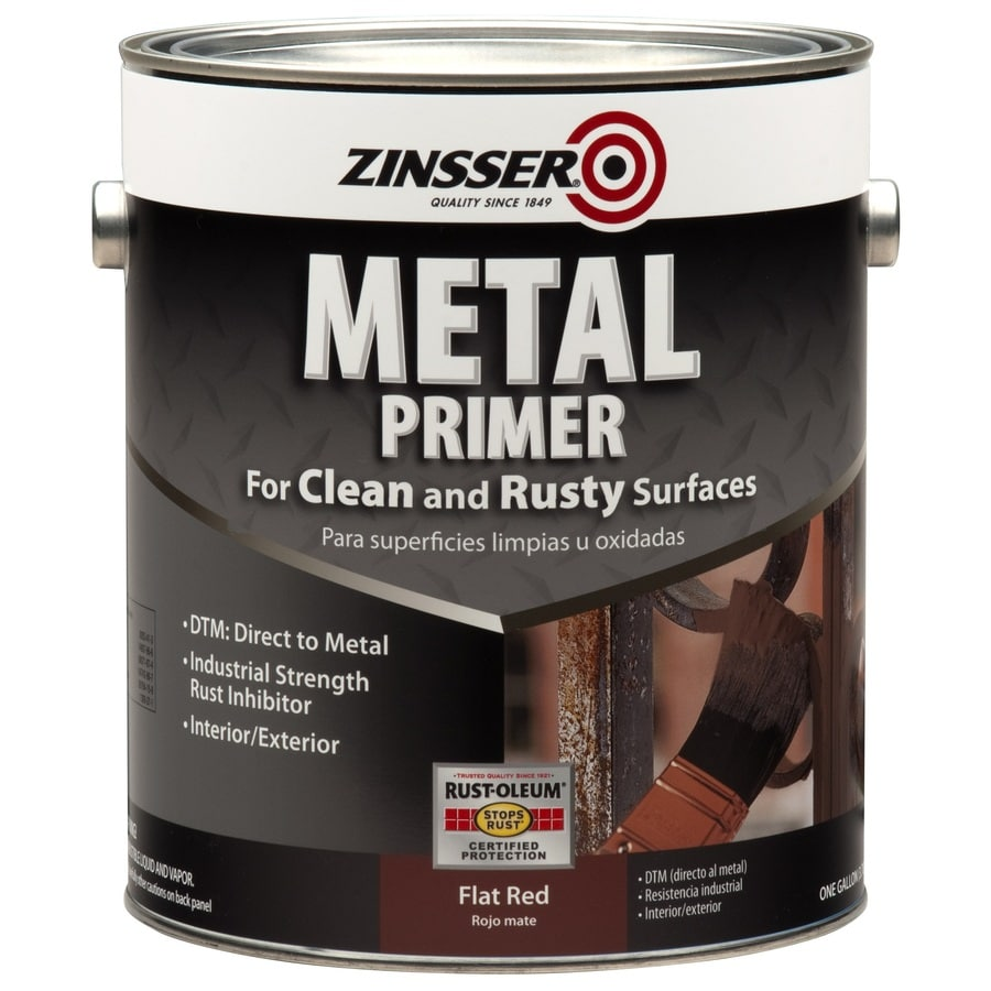 Shop Zinsser Metal Interior Exterior Multi Purpose Oil Based Primer Actual Net Contents 128 Fl