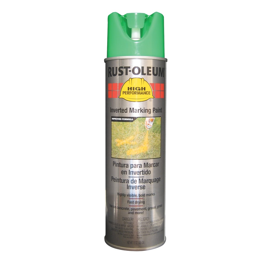 Rust-Oleum High Performance Marking Fluorescent Green Fade Resistant Spray Paint (Actual Net Contents: 15-oz)