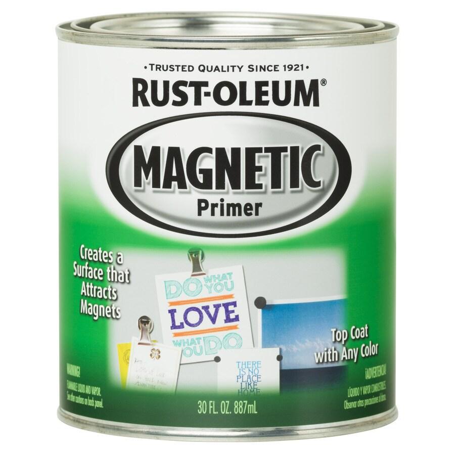 Shop Rust Oleum Flat Black Oil Based Enamel Paint Actual