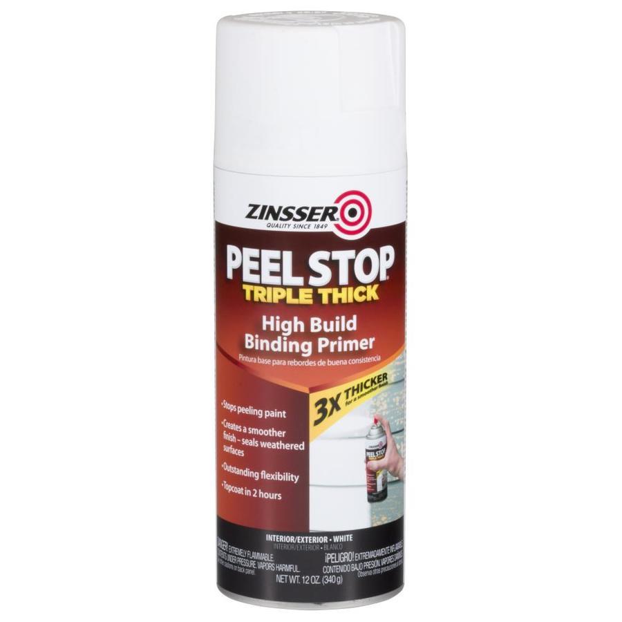 Zinsser Peel Stop Triple Thick Interior/Exterior Latex Primer (Actual Net Contents: 12-fl oz)