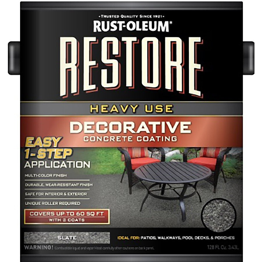 Rust-Oleum Restore Masonry and Stucco Sunset/Matte Matte Interior/Exterior Paint (Actual Net Contents: 128-fl oz)