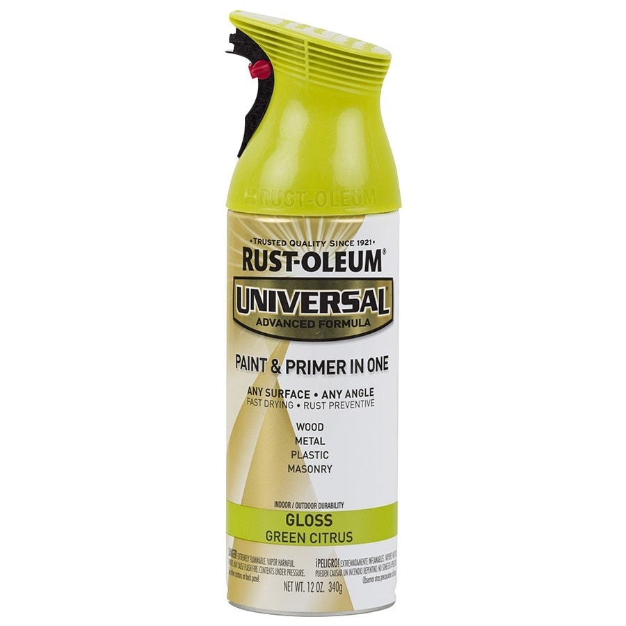 Rust-Oleum Universal Green Citrus Enamel Spray Paint (Actual Net Contents: 12-oz)