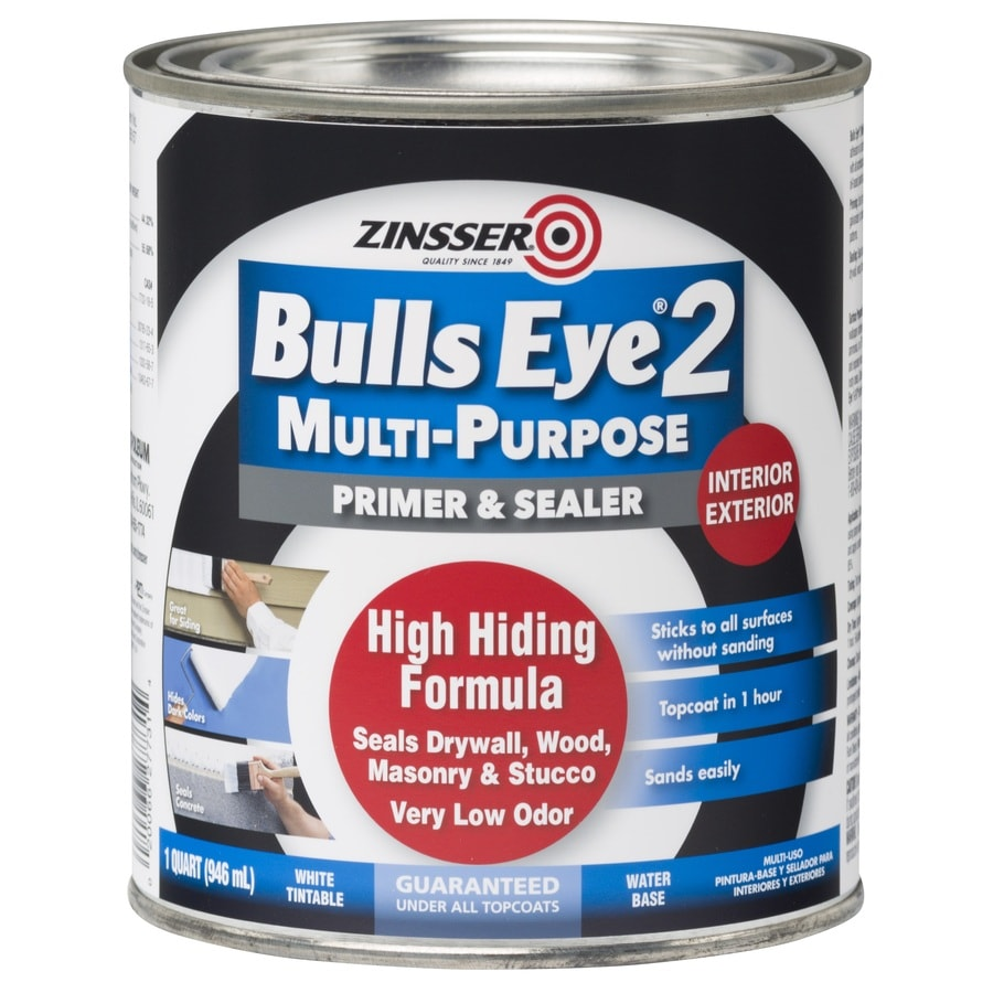 Zinsser Bulls Eye 2 Interior Latex Primer (Actual Net Contents: 32-fl oz)
