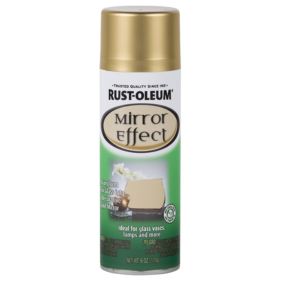 Rust-Oleum Specialty Gold Mirror Spray Paint (Actual Net Contents: 6-oz)