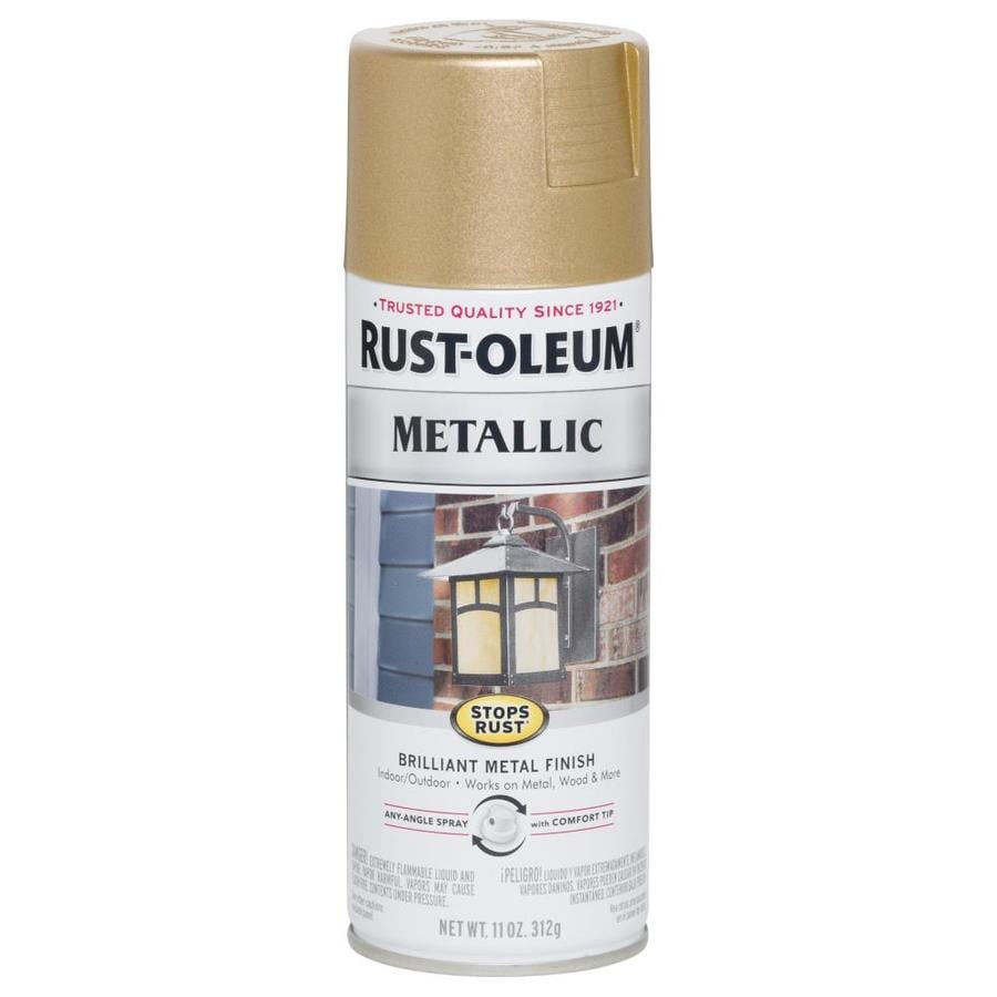 Rust-Oleum Stops Rust Vintage Rose Gold Metallic Rust Resistant Enamel Spray Paint (Actual Net Contents: 11-oz)